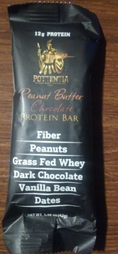 Pottentia Peanut Butter Chocolate Protein Bar