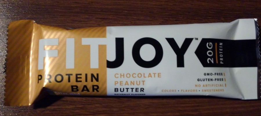 FitJoy Chocolate Peanut Butter Protein Bar