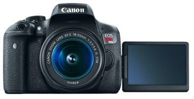 canon t6i as the best SLR camera for vacation or any other kind of trips