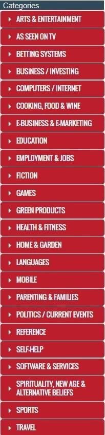 Daftar kategori ClickBank