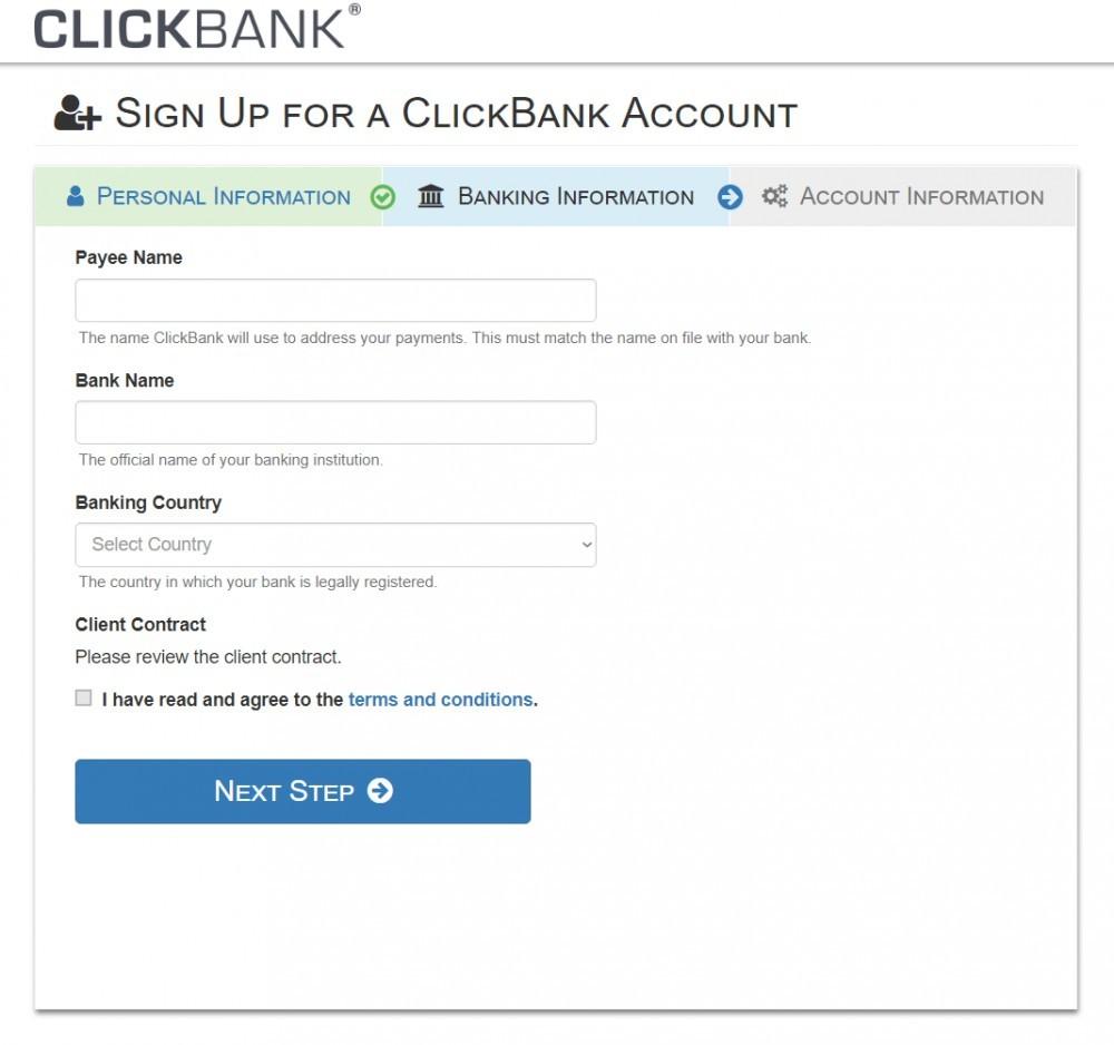 Cara mendaftar menjadi anggota ClickBank