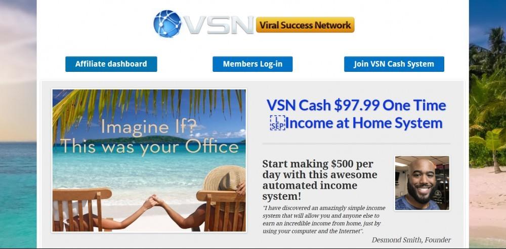 VSN Cash System Scam