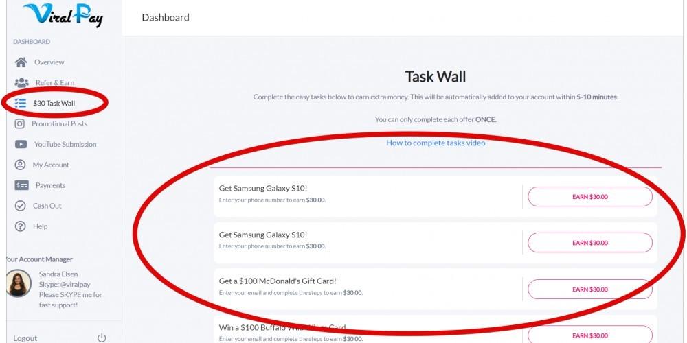 Task Wall