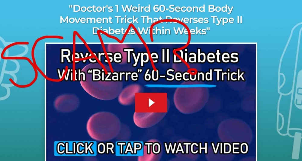 The Diabetes 60 System Scam