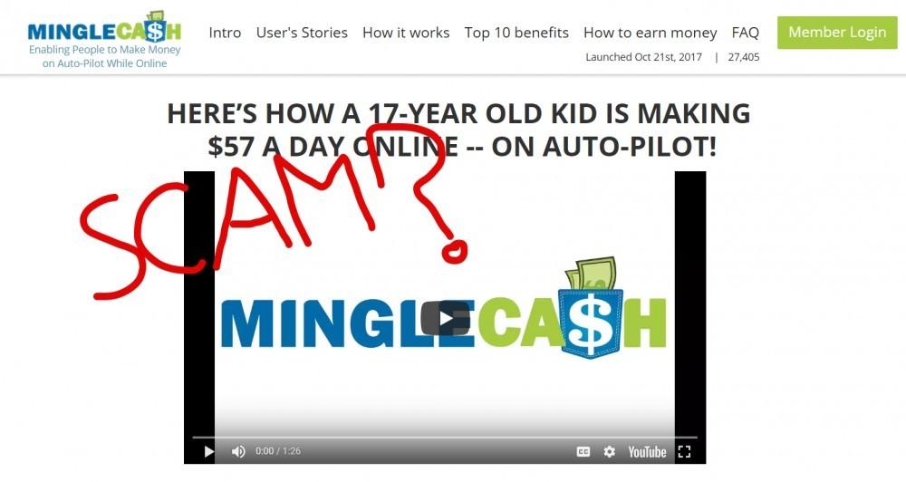 Mingle Cash Scam
