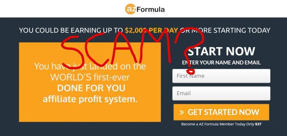 AZ Formula Scam