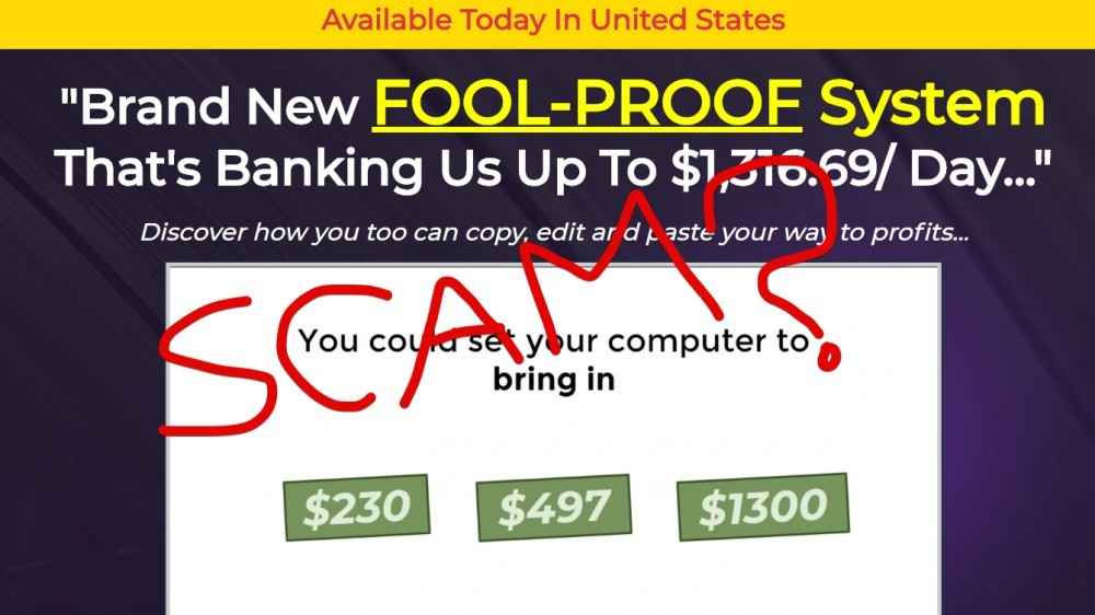 Ultimate PayDays Scam