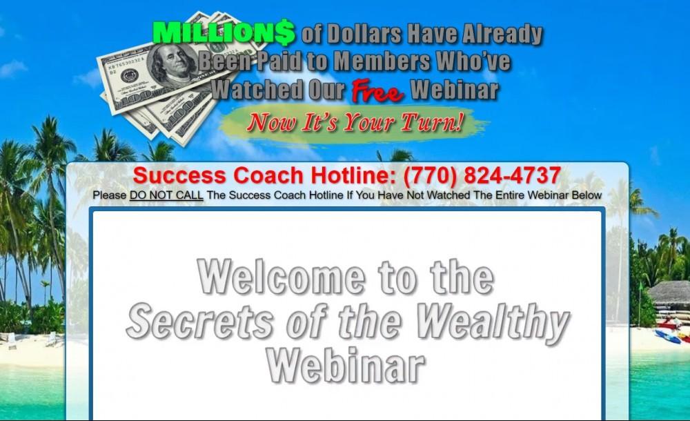 Secrets of The Wealthy Webinar