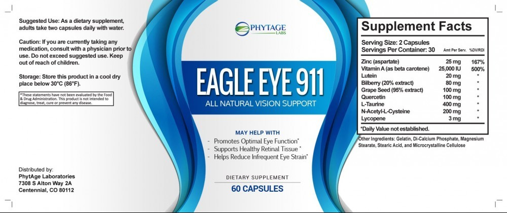 eagle eye 911 ingredients