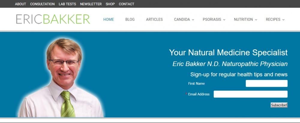 Candida Crusher Eric Bakker