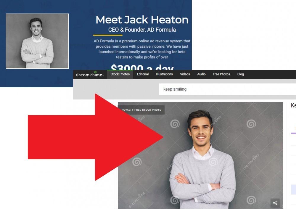 Ad Formula Jack Heaton