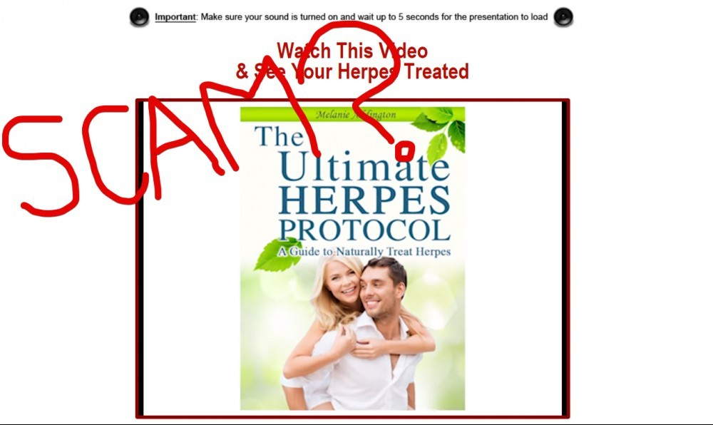 The Ultimate Herpes Protocol scam
