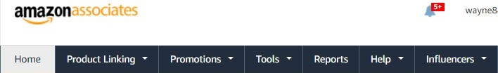 Amazon Associate Homepage