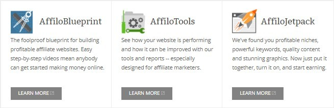 Affilorama Products