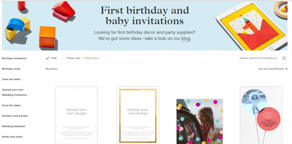 Paperless Post Free Invitations