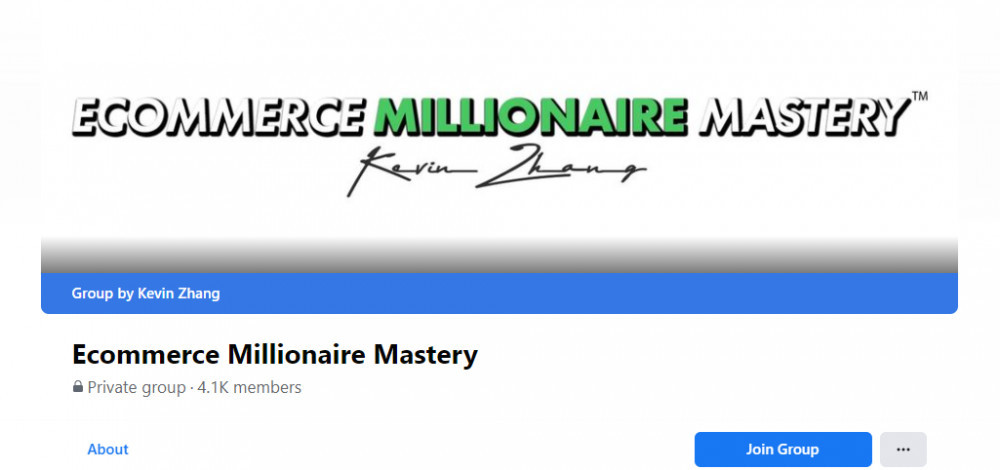 eCommerce Millionaire Mastery Facebook Page