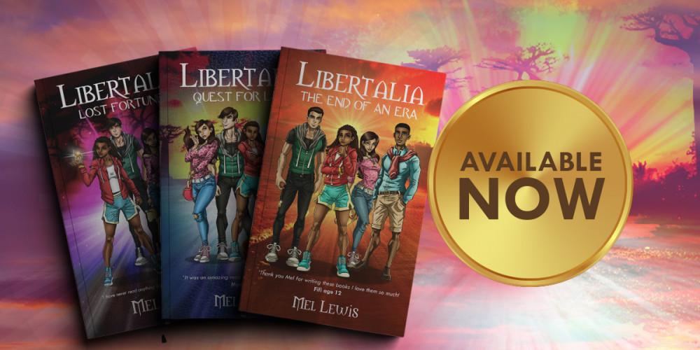 Libertalia Trilogy by Mel Lewis