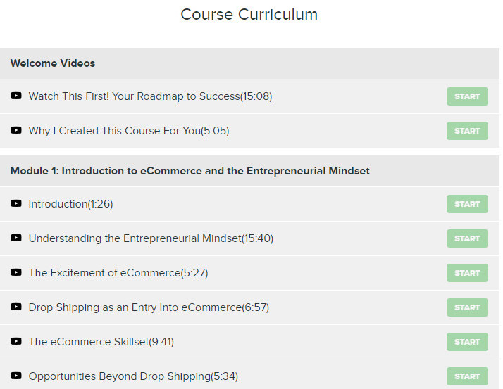 EMM Course Curriculum