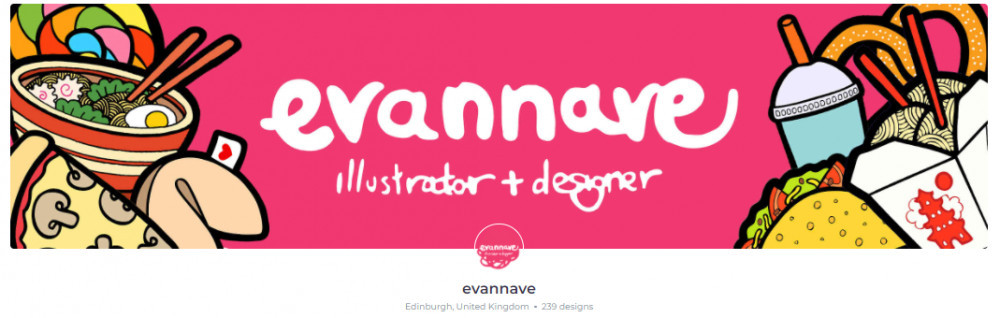 Evannave RedBubble