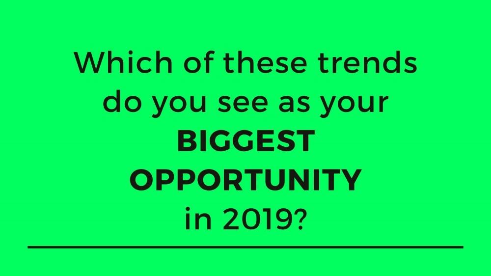 Digital Marketing Trends Question