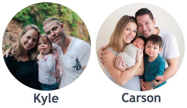 Wealthy Affiliate Founders Kyle and Carson