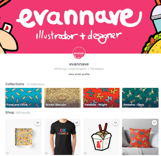 Evannave RedBubble Best Sellers