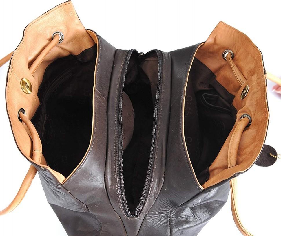 The Inside Gigi Women's Leather Handbag