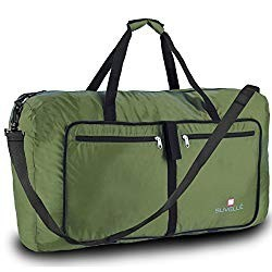 Suvelle Lightweight 29' Travel Foldable Duffel Bag For Luggage Gym Sports Water Resistant Nylon Duffle