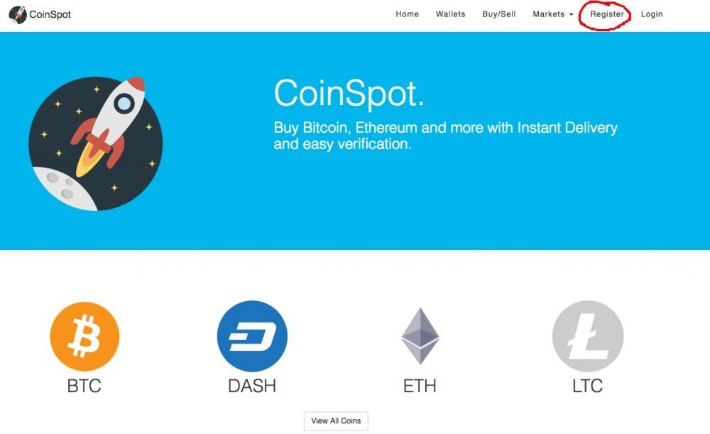 CoinSpot Register Account