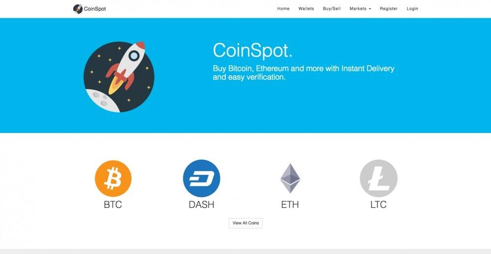 Register at coinspot.com.au