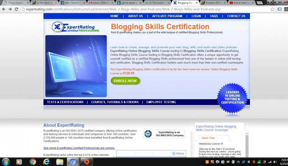 411c4186593 Is The Expert Rating Certified Professional Blogging Course Worth The Money