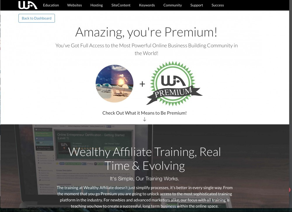 WA Premium Affiliate Link Page