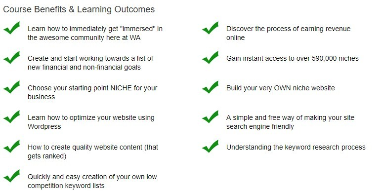 Course Benefits & Learning Outcomes