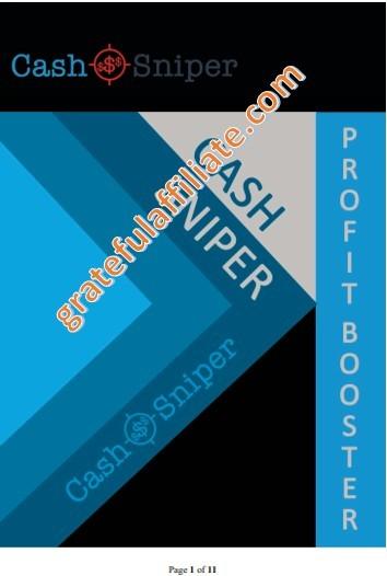 Cash Sniper profit Booster