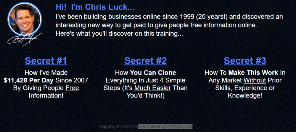 7 Minutes Daily Profits -Chris Luck