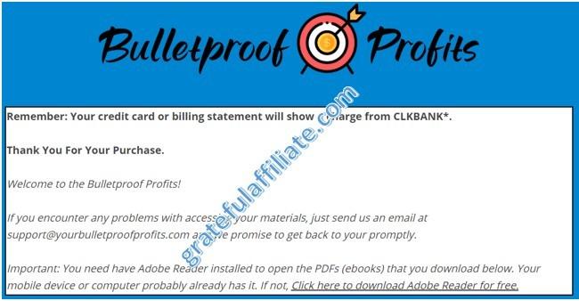 Bulletproof Profits - 3