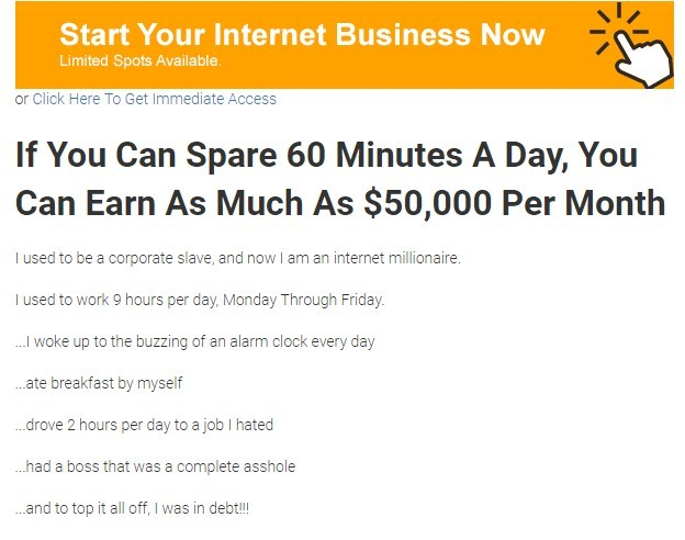 Start your Internet Business Now