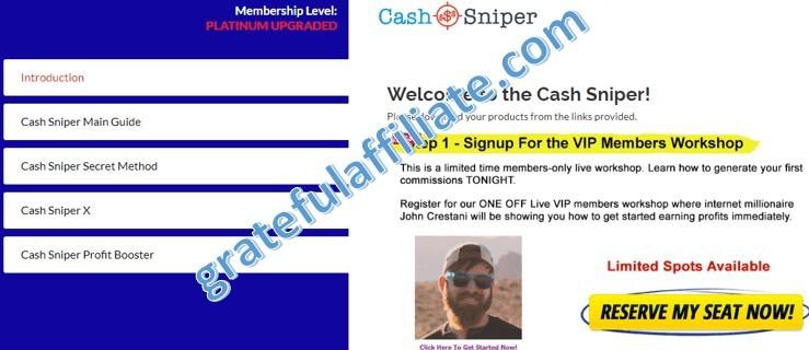 Cash Sniper Members arfea