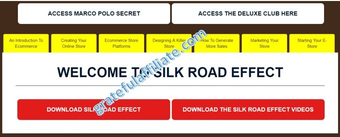 Silk Road Effect 2
