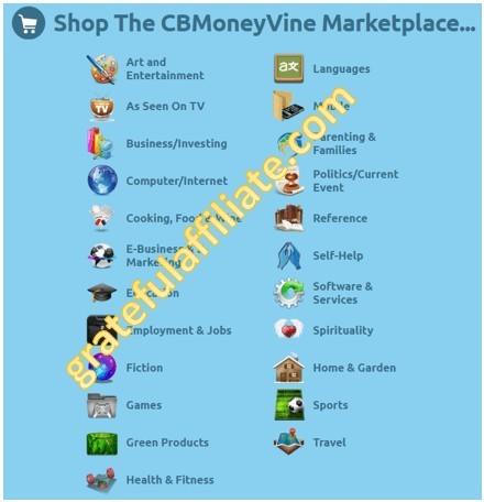 CB MoneyVine Marketplace