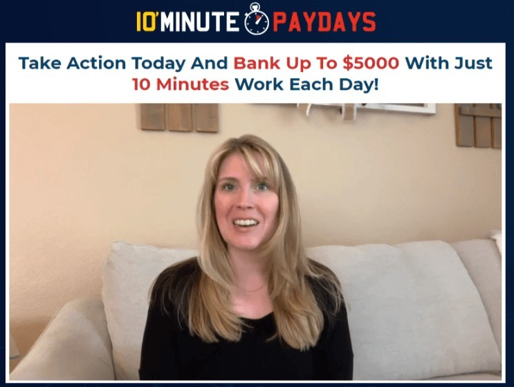 10 Minute Paydays fake testimony