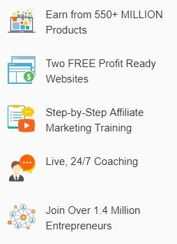 Wealthy Affiliate features