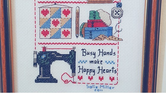 cross stitch - Salie Miller