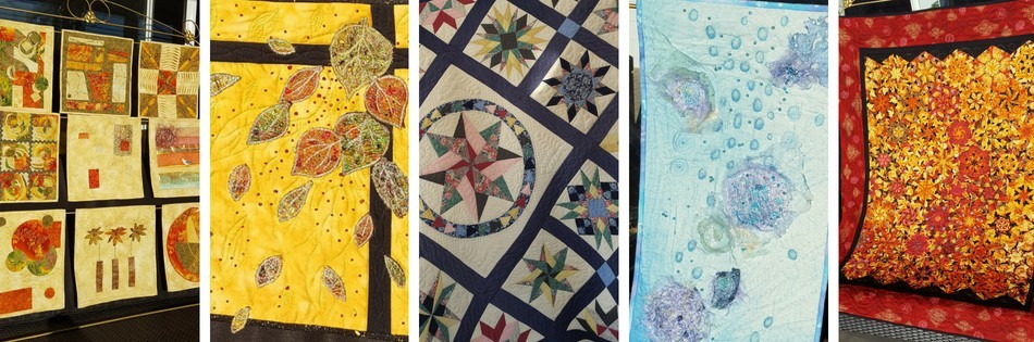 Meet Dal Botha, our 5th Star of the Sew, and the creator of these stunning Embellished Art Quilts. Read more at JillAlexa.com #embellishedartquilts