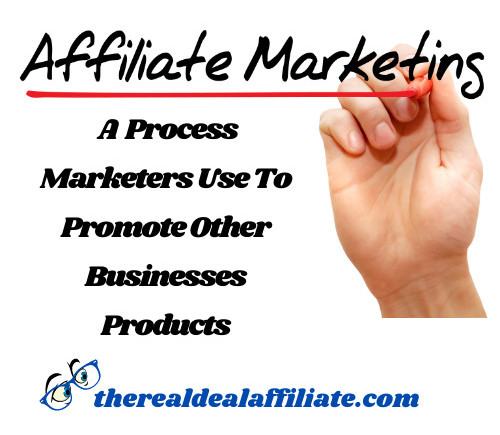 A Process Marketers Use To Promote Other Businesses Products