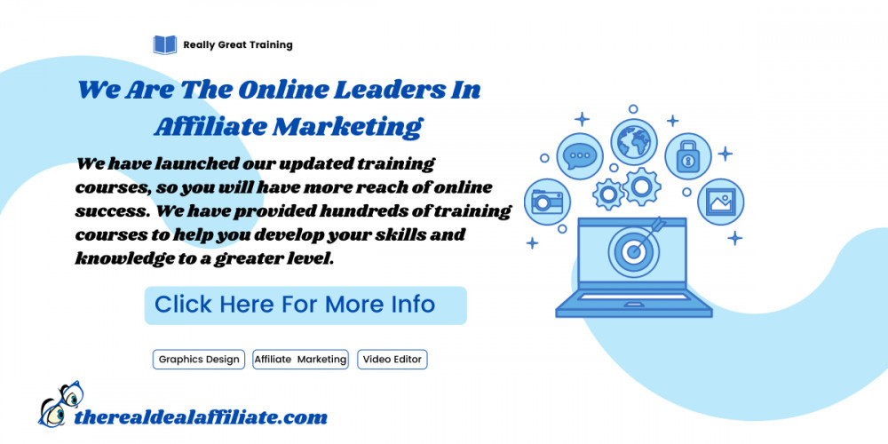 We Are The Online Leaders In Affiliate Marketing