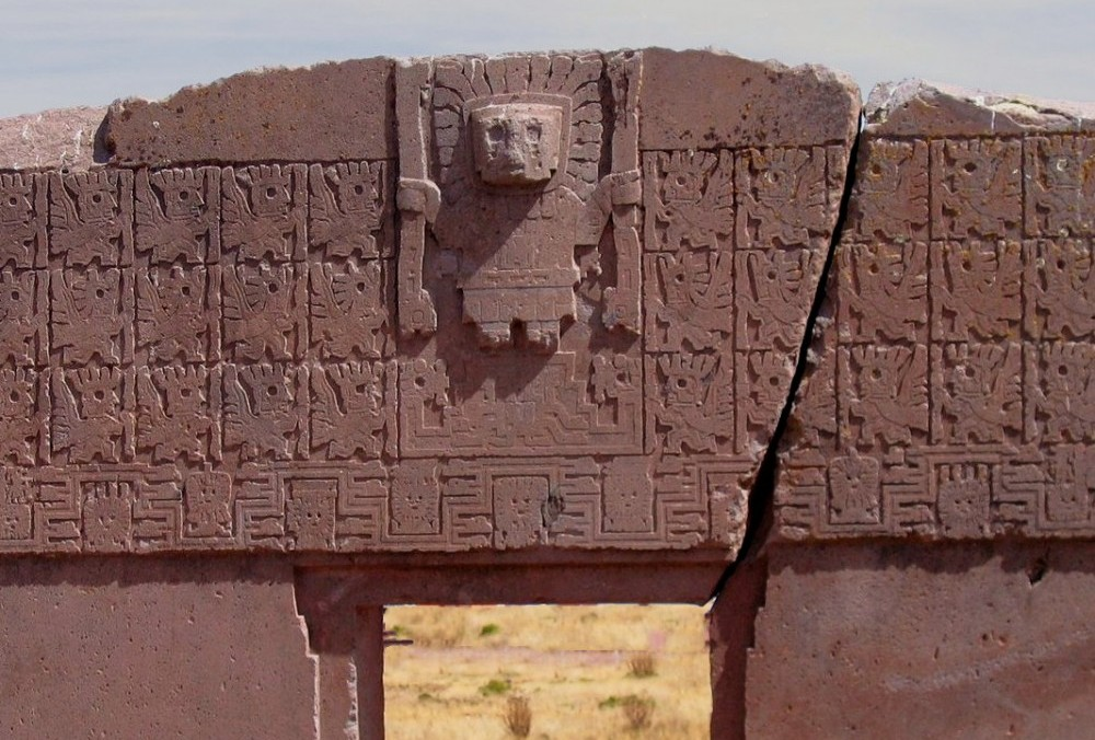 Gate Of The Sun in Bolivia, Tiahuanaco