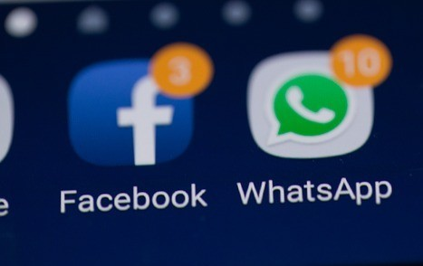 Facebook and WhatsApp notifications