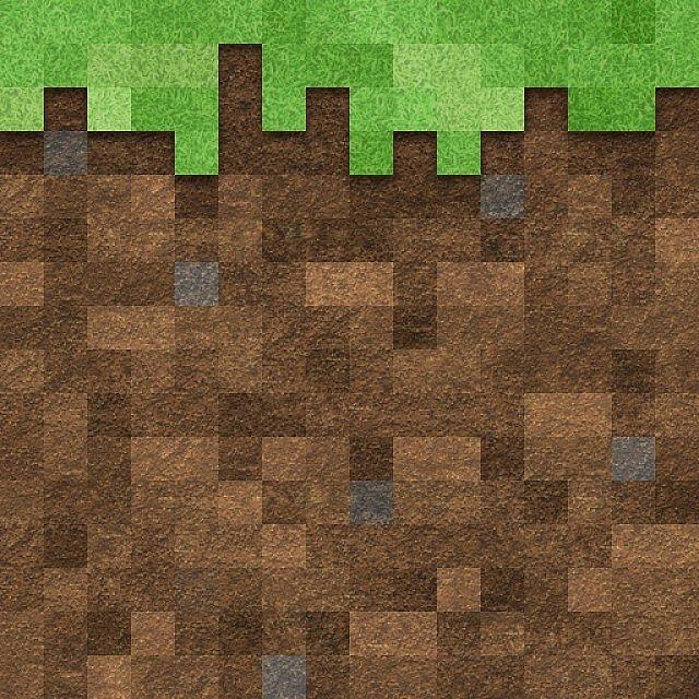 Minecraft Dirt Texture Wallpaper