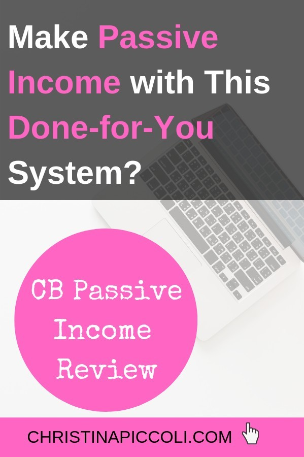 CB Passive Income Review for Pinterest
